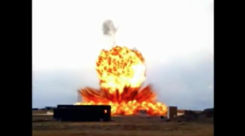 Huper Optik Bomb Blast Film Austin