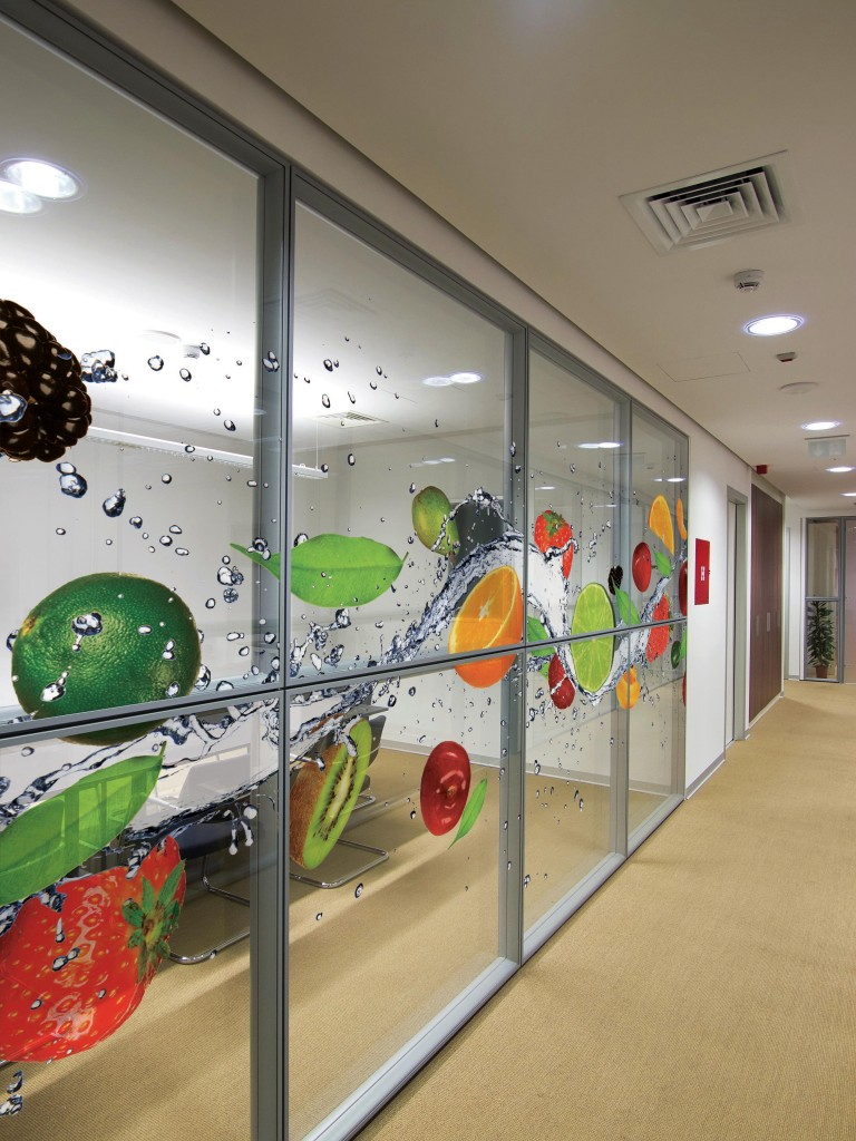 austin commercial decorative window film