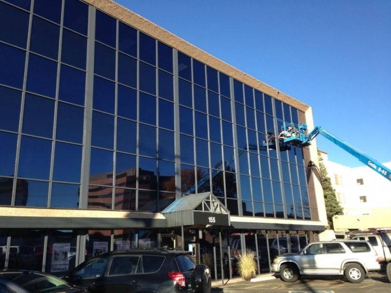 exterior refinishing austin window film