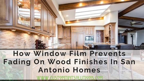 fade prevention Window Film in San Antonio