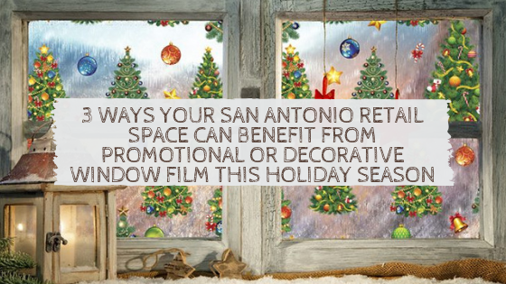 san antonio decorative holiday window film