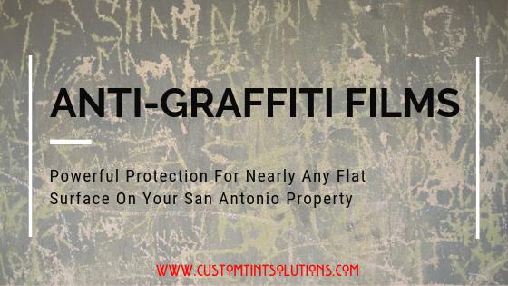 Anti-Graffiti Films in San Antonio