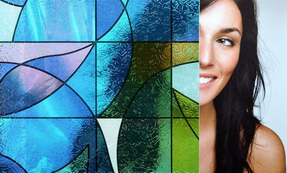 stained glass window film san antonio