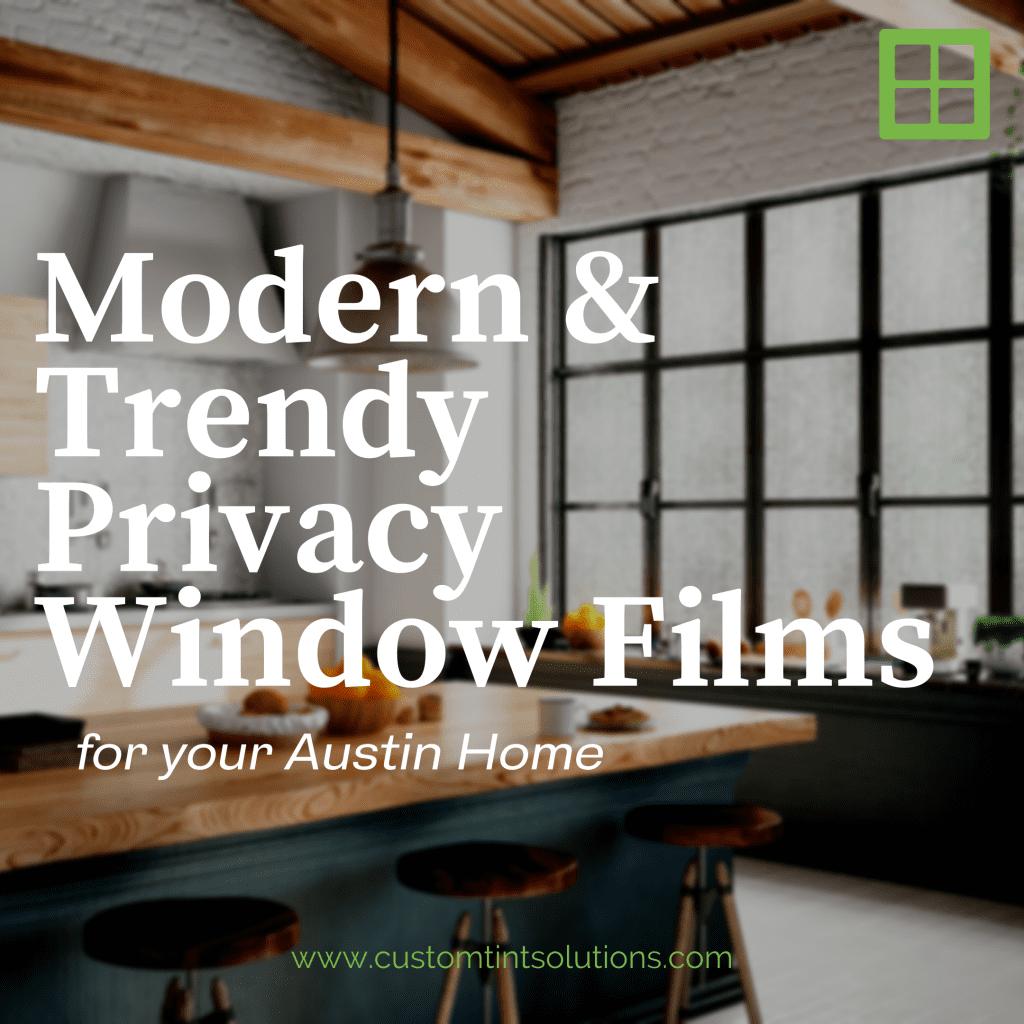 privacy window film austin home
