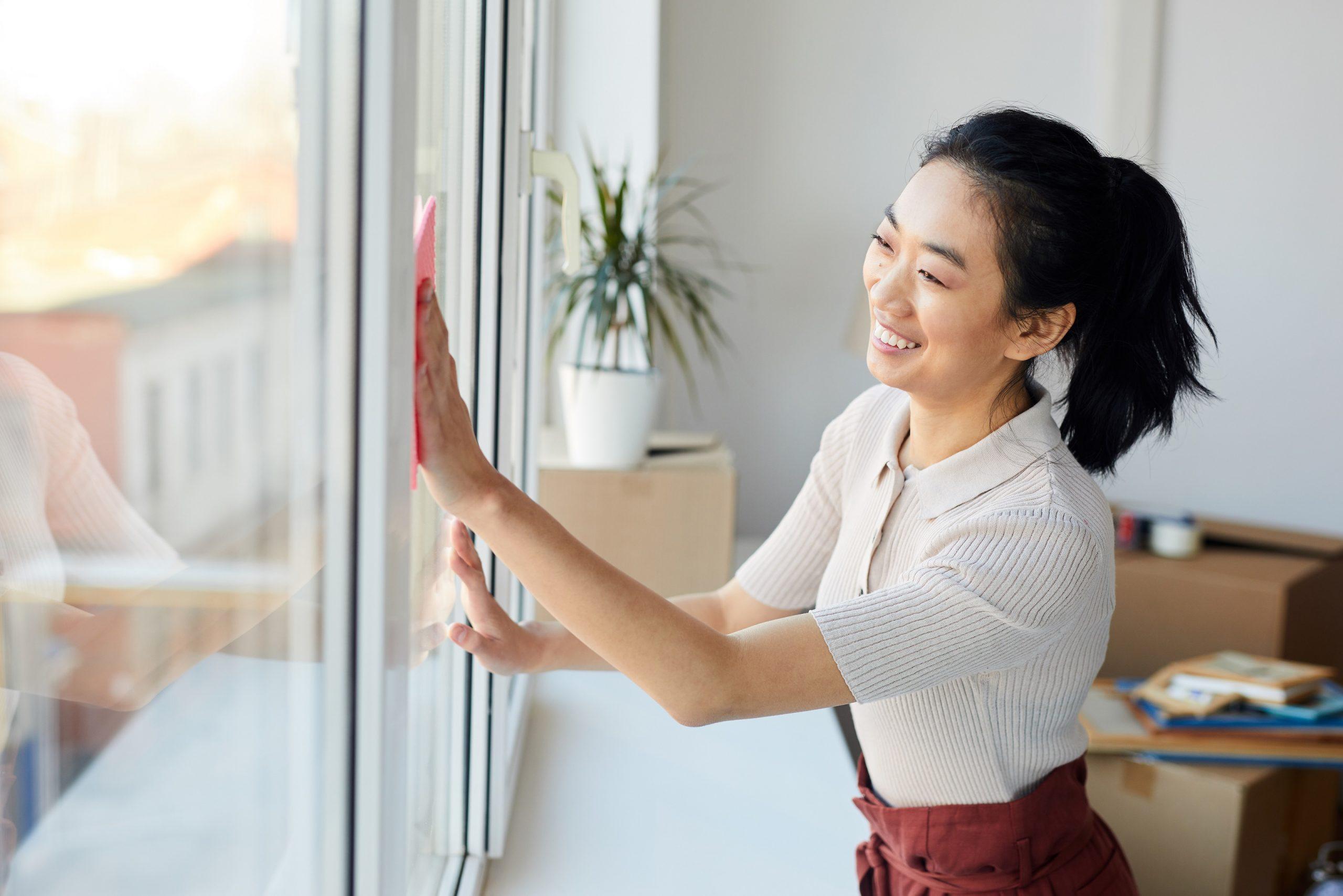 window film care cleaning maintenace